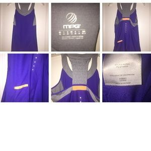 💜💜MPG Gray Workout Tank Top M